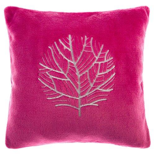 Чехол для подушки Этель Деревья (2853382), 40 х 40 см вишневый