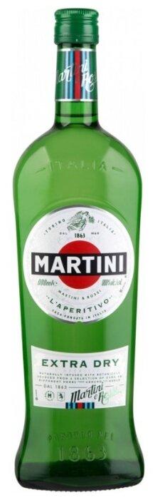 Вермут Martini Extra Dry, 1 л