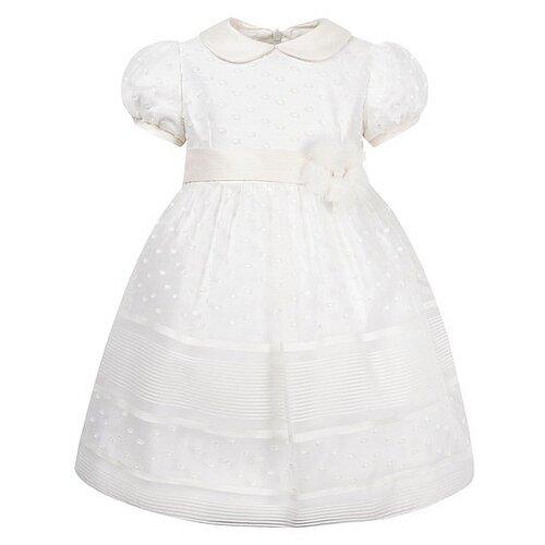 Платье ColoriChiari размер 92, кремовый