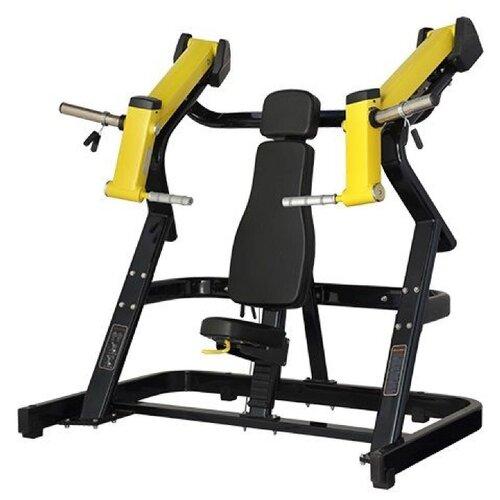 Тренажер со свободными весами Bronze Gym XA-02 черный/желтый верхняя тяга bronze gym xa 07