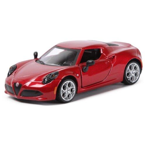 Купить Легковой автомобиль Bburago Street Fire Alfa Romeo 4C (18-43000/15) 1:32 красный, Машинки и техника