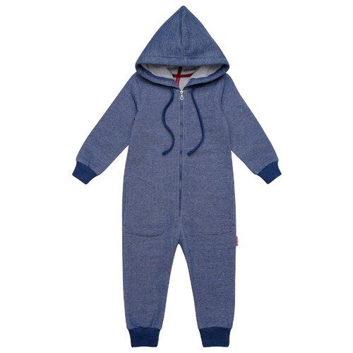 Комбинезон Kogankids размер 116, синий меланж платье kogankids размер 116 синий