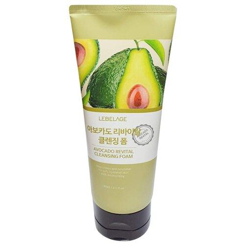 Купить Lebelage пенка для умывания с экстрактом авокадо Avocado Revital Cleansing Foam, 180 мл