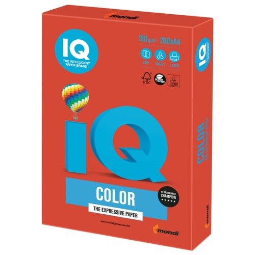 Фото - Бумага IQ Color А4 120 г/м² 250 лист. 1шт. бумага iq color а4 color 120 г м2 250 лист оранжевый or43 1 шт