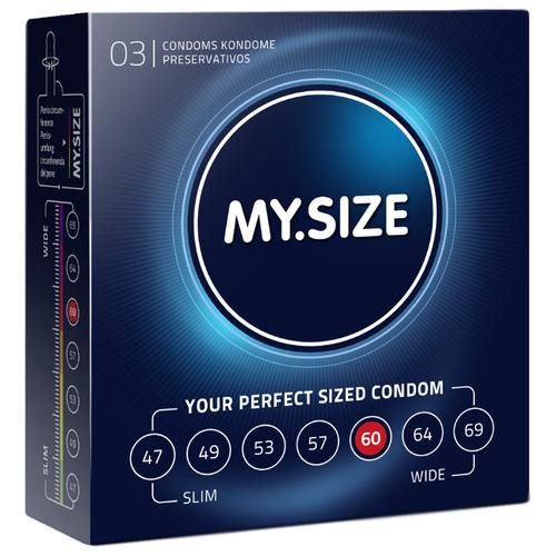 Презервативы MY.SIZE 60*193 (3 шт.) презервативы my size 60 193 36 шт