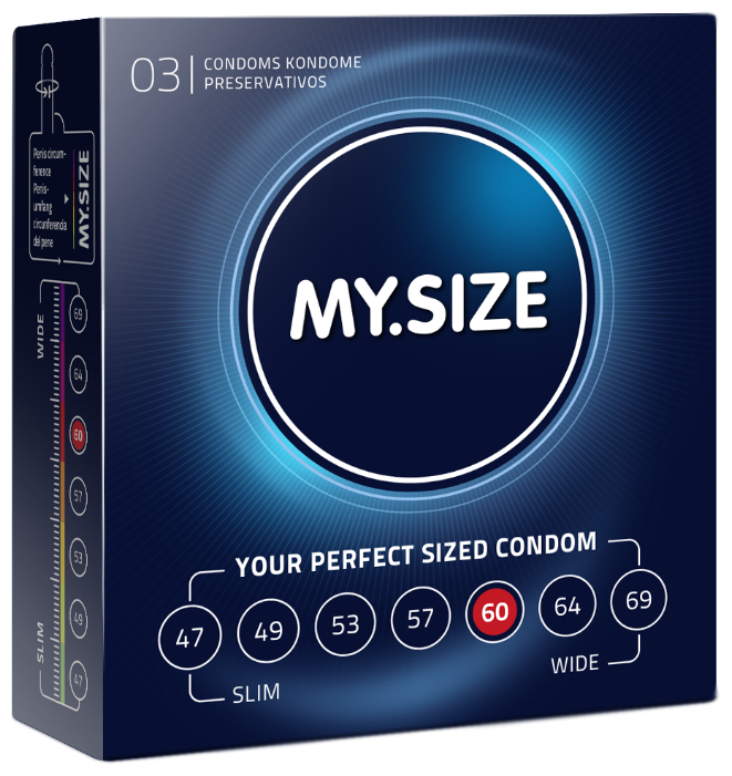 Презервативы MY.SIZE 60*193