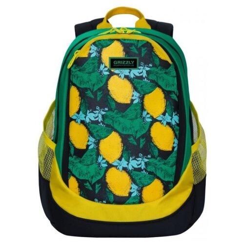 Рюкзак Grizzly RD-953-4/1 16 (лимоны)