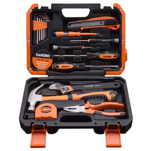Набор инструментов Harden (18 предм.) 511018 оранжевый набор инструментов oasis jack 496807 оранжевый