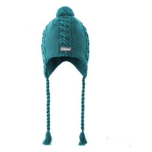 Шапка Reima размер 48, aqua шапка reima reima re883cgfyfg0
