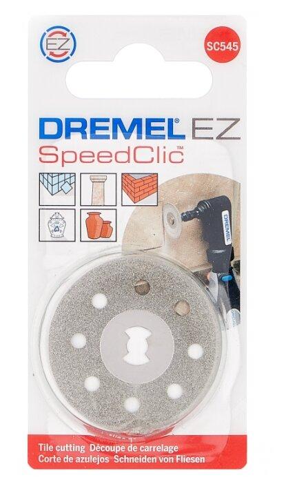 Насадка Dremel Алмазный отрезной круг SC545