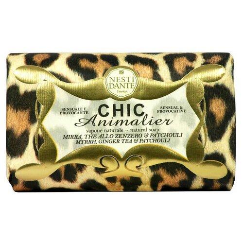 Мыло кусковое Nesti Dante Chic Animalier Leopard, 250 г недорого