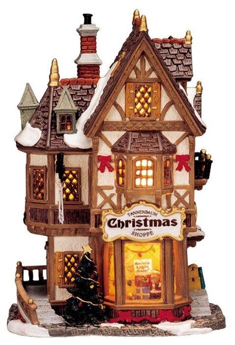 LEMAX, Рождественский магазин, свет, 20,3х14,1х9 см, батарейки 35845-lemax
