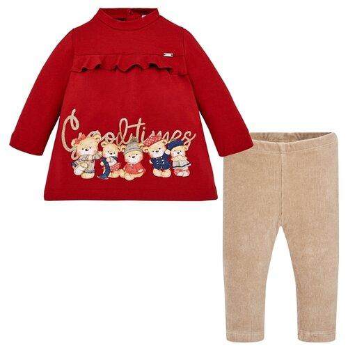 Купить Комплект одежды Mayoral размер 98, красный, Комплекты и форма