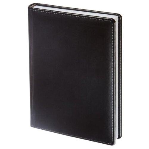 Купить Ежедневник Attache Каньон недатированный, искусственная кожа, А5, 176 листов, черный, Ежедневники, записные книжки