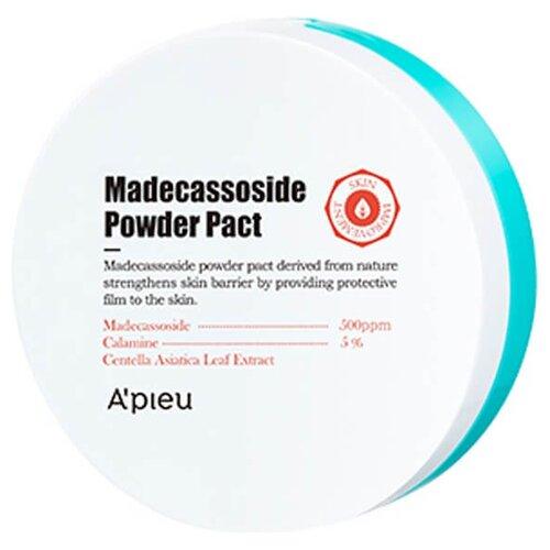 APIEU пудра компактная с мадекасоссидом Madecassoside Powder Pact прозрачный