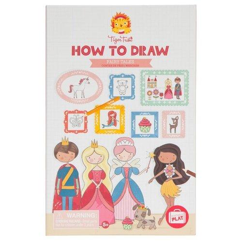 Фото - Набор для творчества Учимся рисовать. Для девочек, арт. 6-0219 учимся рисовать для девочек