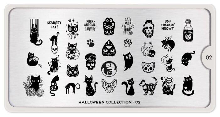 Трафарет MoYou London Halloween №02 12.5 х 6.5 см