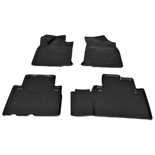 Комплект ковриков NorPlast NPA11-C24-020 Geely Atlas 4 шт. черный