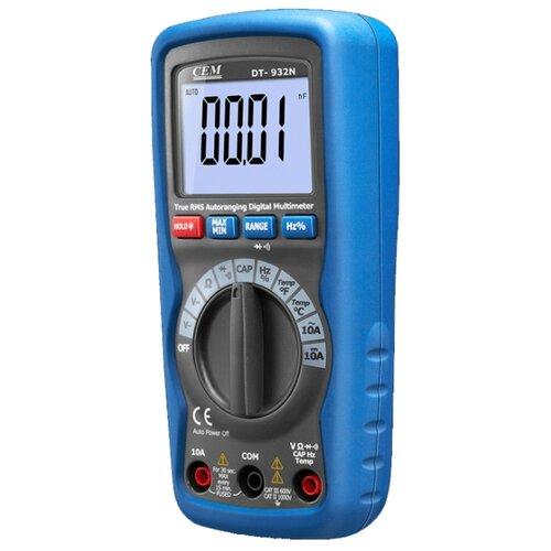 Мультиметр цифровой CEM DT-932N мультиметр cem dt 61