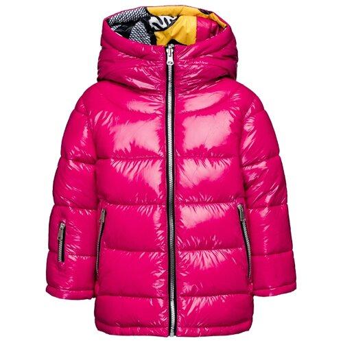 Купить Куртка Gulliver 219FGC4101 размер 110, малиновый, Куртки и пуховики