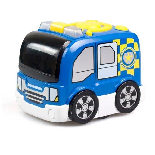 Машинка Silverlit Tooko программируемая полицейская синий silverlit пожарная машина tooko красный