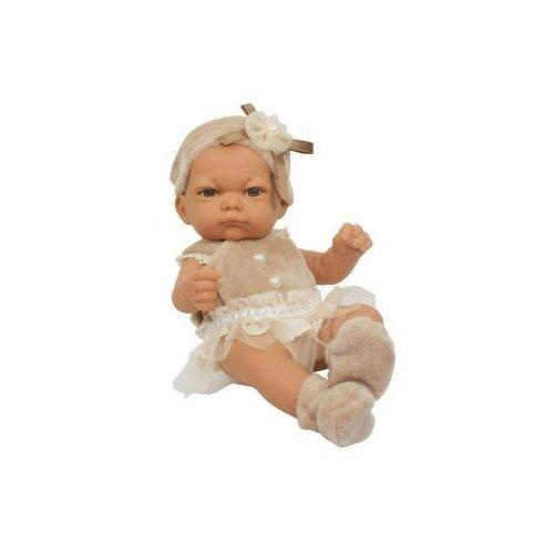 Купить Пупс 1 TOY Baby Doll в бежевом платьице, 25 см, Т15458, Куклы и пупсы