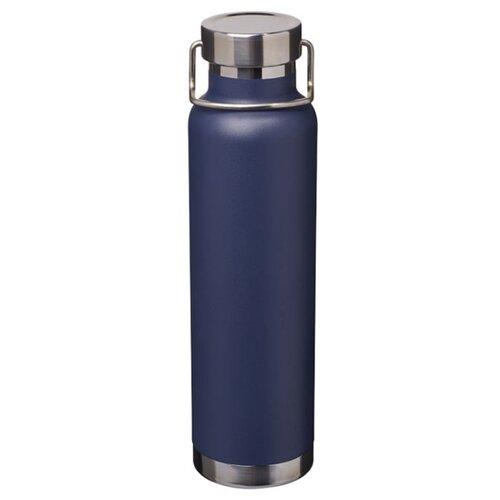 Бутылка с вакуумной медной изоляцией, темно-синий
