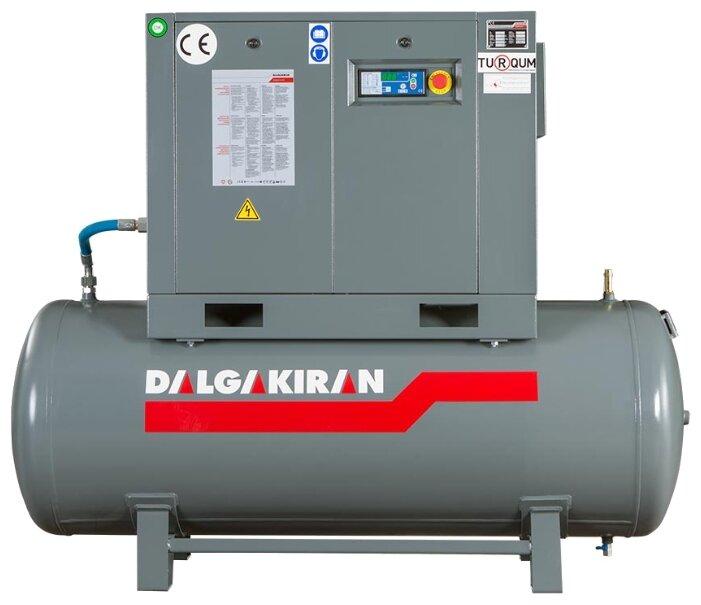 Компрессор масляный DALGAKIRAN F 22-8-250, 250 л, 22 кВт