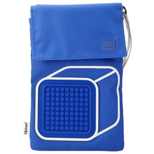 сумка планшет victorinox текстиль синий Сумка кросс-боди Upixel, текстиль, синий