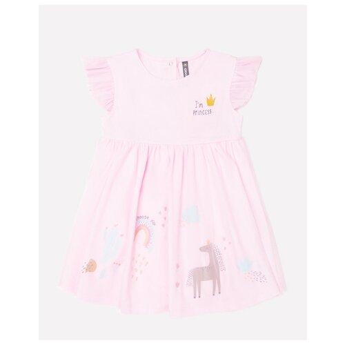 Купить Платье crockid размер 74, розовый, Платья и юбки