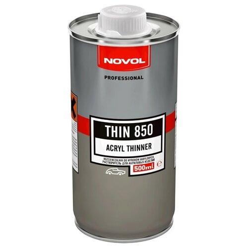 NOVOL разбавитель для автоэмали Thin 850 (стандартный) бесцветный 500 мл