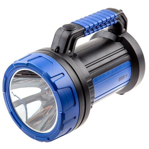 цена на Ручной фонарь КОСМОС Accu9107WUSB синий