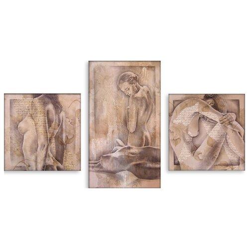 Модульная картина на холсте Откровение 90x51 см