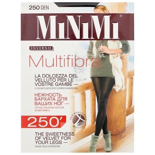 Колготки MiNiMi Multifibra 250 den, размер 4-L, nero (черный) колготки minimi cotone 250 den размер 4 l nero черный