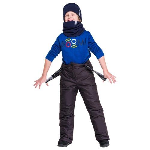 Купить Полукомбинезон BOOM! by Orby 90581_BOB размер 104, черный, Полукомбинезоны и брюки