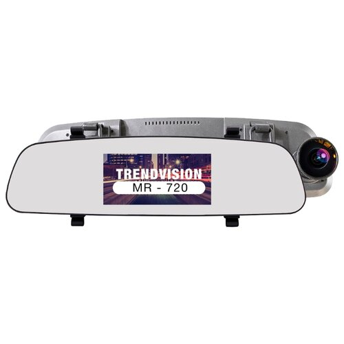 Видеорегистратор TrendVision MR-720, 2 камеры, GPS, ГЛОНАСС черный видеорегистратор trendvision mr 715gp черный