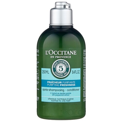 Купить L'Occitane en Provence кондиционер для волос Aromachologie Purifying Freshness Живительная свежесть, 250 мл
