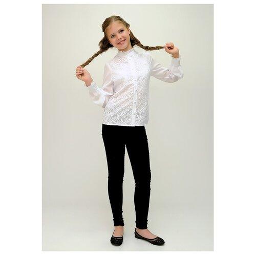 Блузка Ladetto размер 40, белый