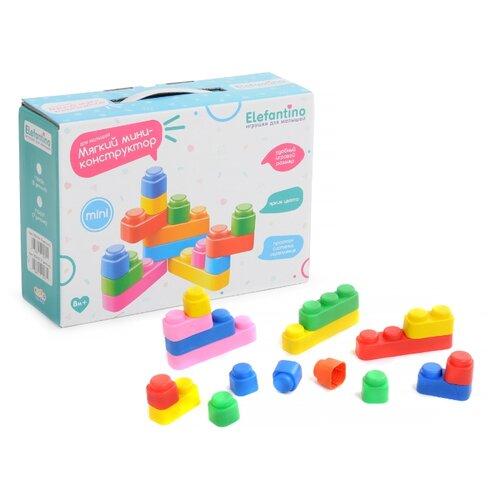 Купить Мягкий конструктор Elefantino IT104237 Для малышей, Конструкторы