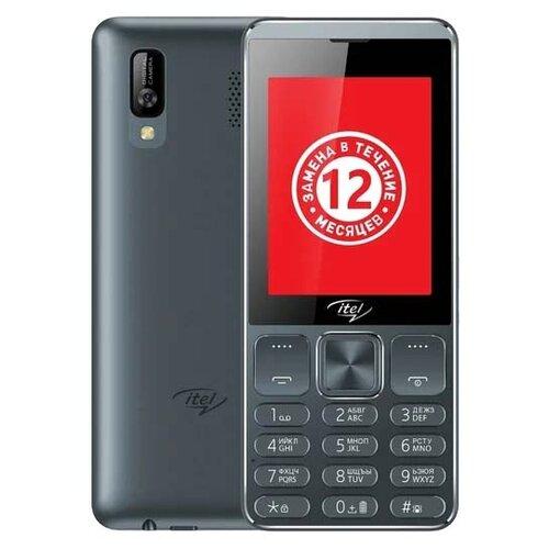 Телефон Itel it6320 серый