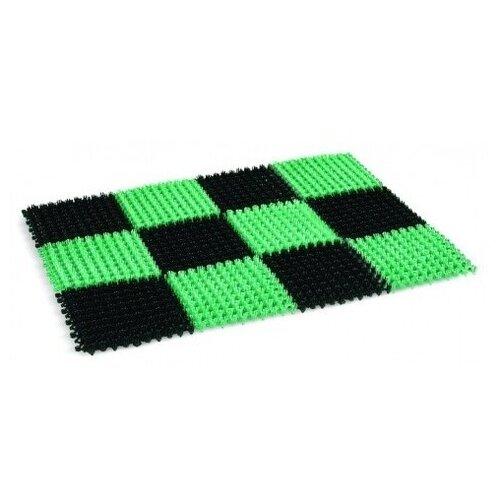 gerard darel футболка Придверный коврик Darel Plastic Травка (КТ012), размер: 0.54х0.41 м, черный/зеленый