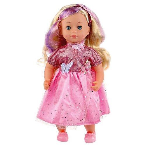 Купить Интерактивная кукла Карапуз Настя, 40 см, POLI-08-ST-ANM-RU, Куклы и пупсы