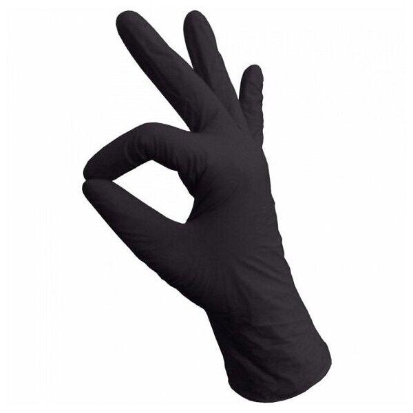 Перчатки смотровые Basic Medical нитриловые — купить по выгодной цене на Яндекс.Маркете