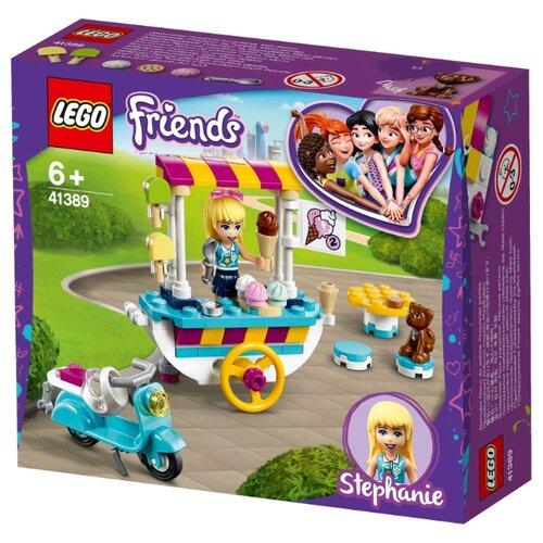 Купить Конструктор LEGO Friends 41389 Тележка с мороженым, Конструкторы