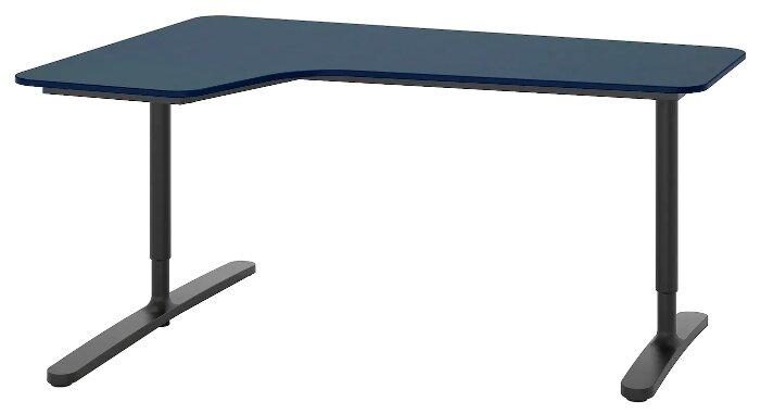 Письменный стол угловой IKEA Бекант — купить по выгодной цене на Яндекс.Маркете