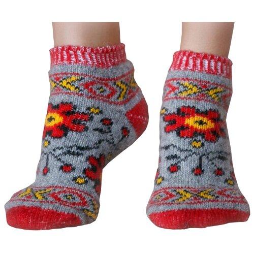 Следы шерстяные Бабушкины носки P6R185-1 размер 35-37