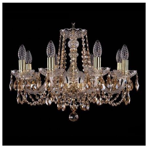 Люстра Bohemia Ivele Crystal 1402/8/195/G/R721, E14, 320 Вт люстра bohemia ivele crystal 1402 1402 8 195 g m711 e14 320 вт