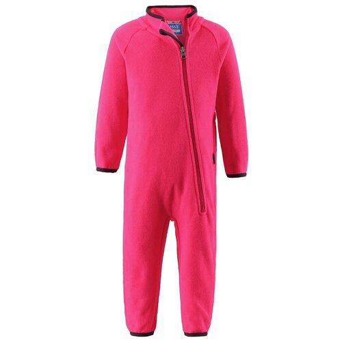 Комбинезон Lassie размер 86, малиновый 3380 комбинезон утепленный для девочки batik торопыжка цвет розовый 147 19з размер 86