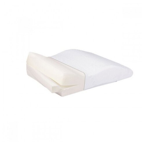 Подушка Тривес ортопедическая Т.307 (ТОП-107) 50 х 65 см белый цена 2017