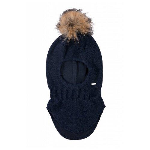 Купить Шапка-шлем FiNN FLARE размер 6-13 (54), темно-синий, Головные уборы